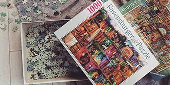 ravensburger könyves puzzle
